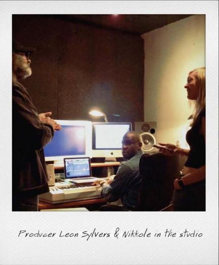 Nikkole & Producer Leon Sylvers with Darien Dorsey