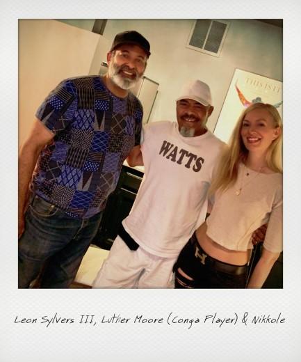 Leon Sylvers III, Luther Moore (conga player) & Nikkole