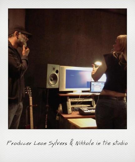 Nikkole & Producer Leon Sylvers