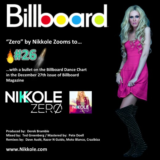 "Nikkole ""Zero"" - Billboard - No. 26"