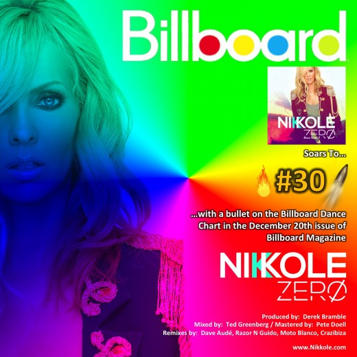 Billboard - No. 30 with a bullet
