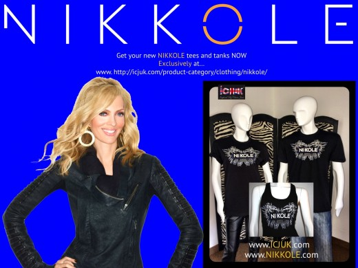 Nikkole ICJUK Tees and Tanks