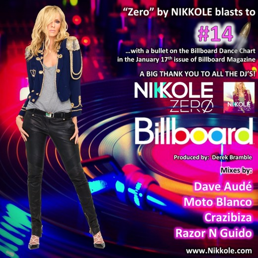 "Nikkole ""Zero"" Billboard - No. 14"