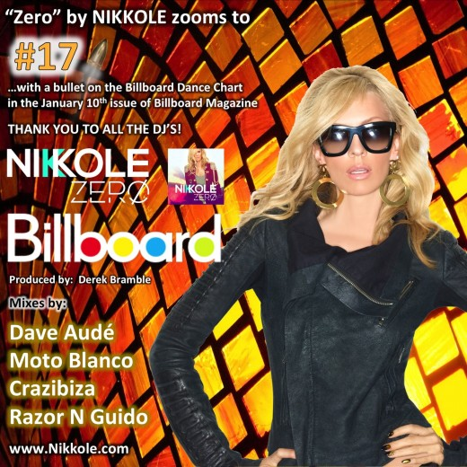 "Nikkole ""Zero"" Billboard - No. 17"