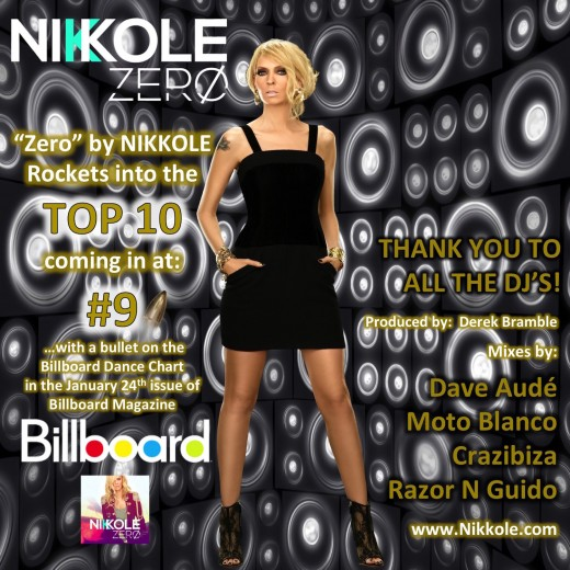 Nikkole  Zero - Billboard - No. 9