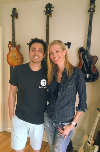 Nikkole and Recording Artist Keaton Simons