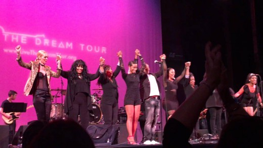 Epic moments at the Live The Dream Tour Gala Concert with these amazing and powerful men and women.