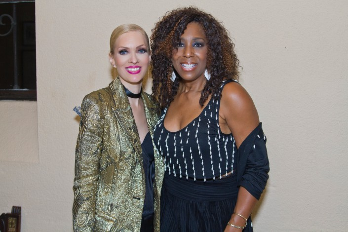 Nikkole and Dawnn Lewis after the show at the LTDTF Gala Concert