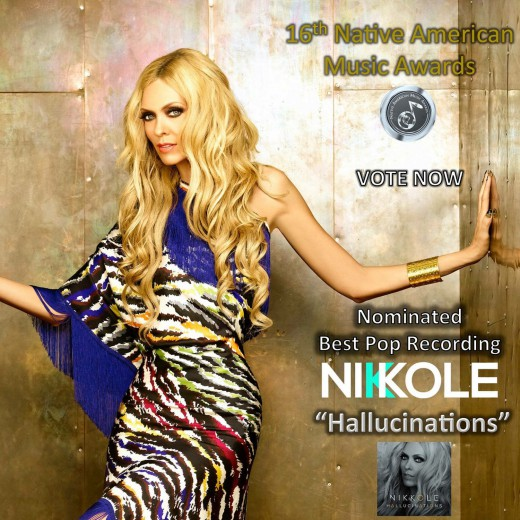 Nikkole has been nominated for the prestigious Native American Music Award