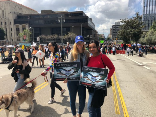 Nikkole With Juliana Bolden (LTDTF) March For Our Lives