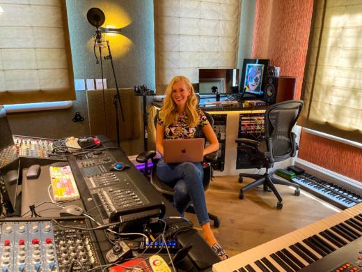 Nikkole in the lab at Vicasa Studio